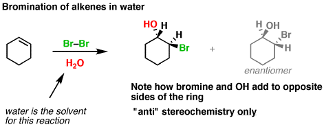2-bromination-alkenes-water