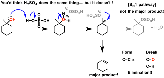 3-h2so4 alcohols