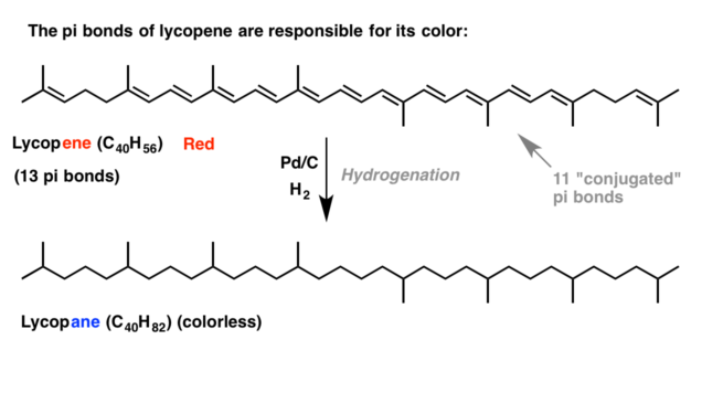 2-hydrog of lycopene