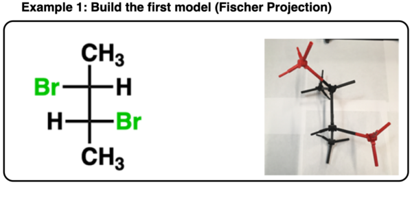 determining enantiomers vs diastereomers using a model kit